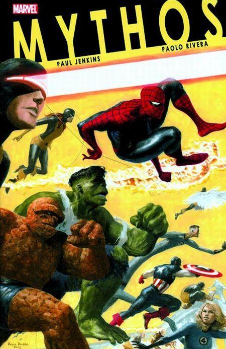 Marvel Exklusiv 81: Marvel Mythos SC - Das Cover