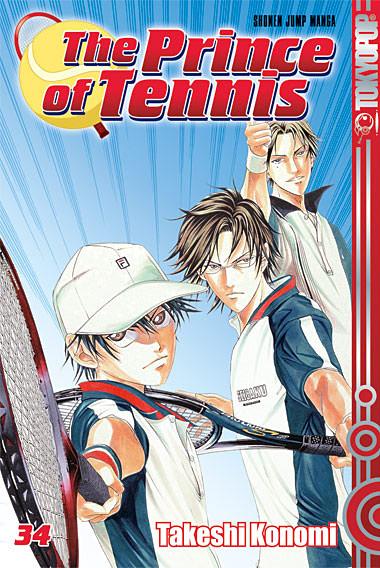 The Prince Of Tennis 34 - Das Cover
