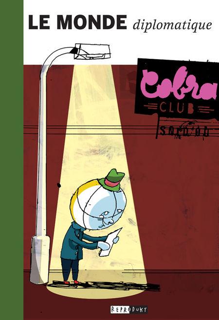 Le Monde diplomatique  In 50 Comics um die Welt - Das Cover