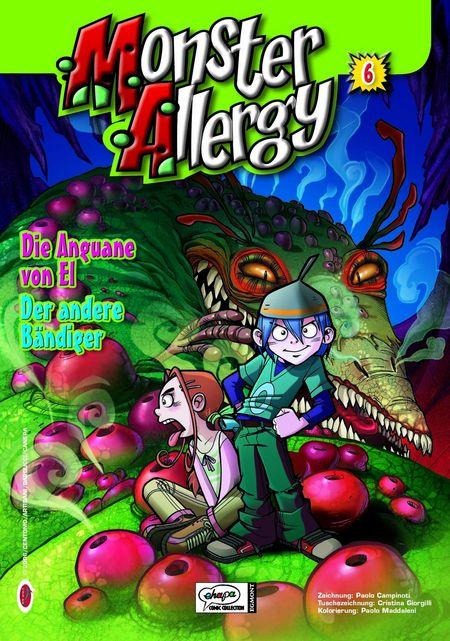 Monster Allergy 6 - Das Cover