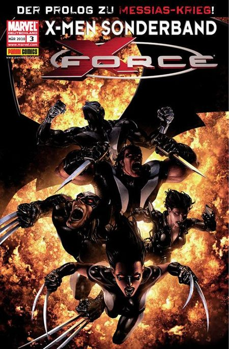 X-Men Sonderband: X-Force 3 - Das Cover