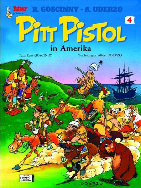 Pitt Pistol 4: Pitt Pistol in Amerika - Das Cover