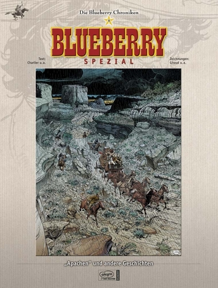 Blueberry Chroniken 0: Apachen und andere Geschichten - Das Cover