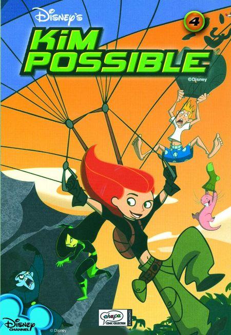 Kim Possible 4 - Das Cover