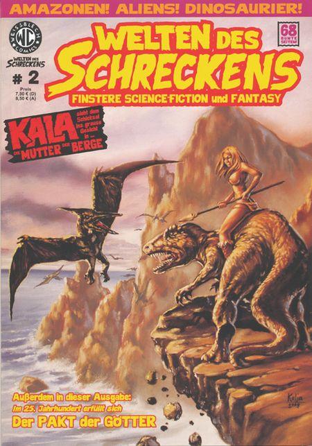 Welten des Schreckens 2 - Das Cover