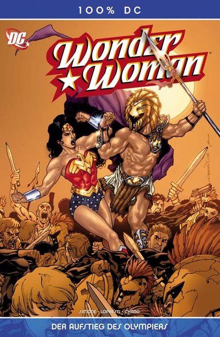 100% DC 27: Wonder Woman - Der Aufstieg des Olympiers! - Das Cover