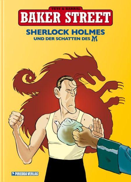 Baker Street 4: Sherlock Holmes und der Schatten des M - Das Cover