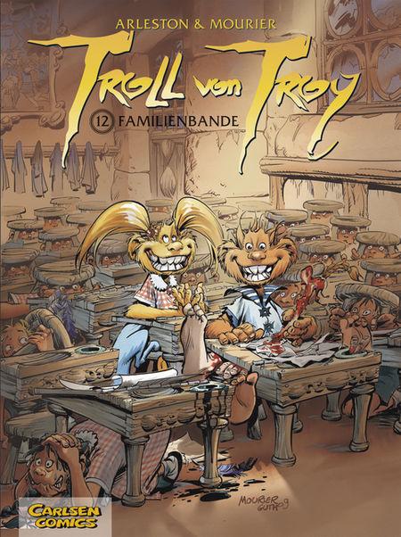 Troll von Troy 12 - Das Cover