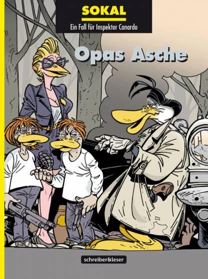 Ein Fall für Inspektor Canardo 19: Opas Asche - Das Cover