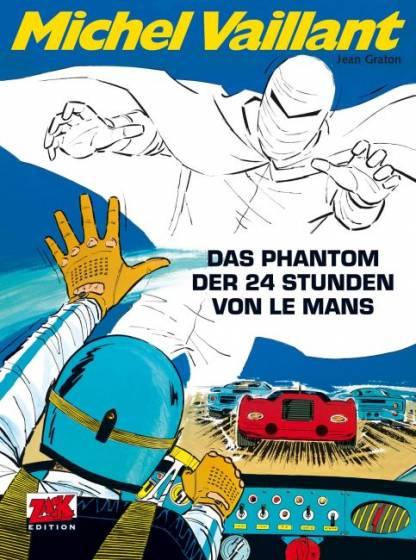 Michel Vaillant 17: Das Phantom der 24 Stunden von Le Mans - Das Cover