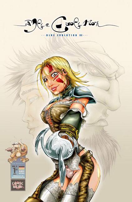 Blue Evolution Vol. 3 Nr. 1 - Übergang - Das Cover