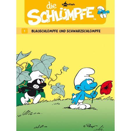 Die Schlümpfe 1: Blauschlümpfe und Schwarzschlümpfe - Das Cover