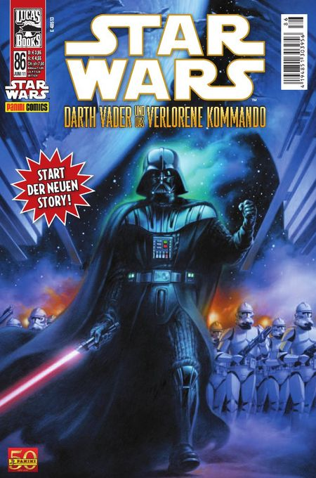 Star Wars 86: Darth Vader - Das Cover