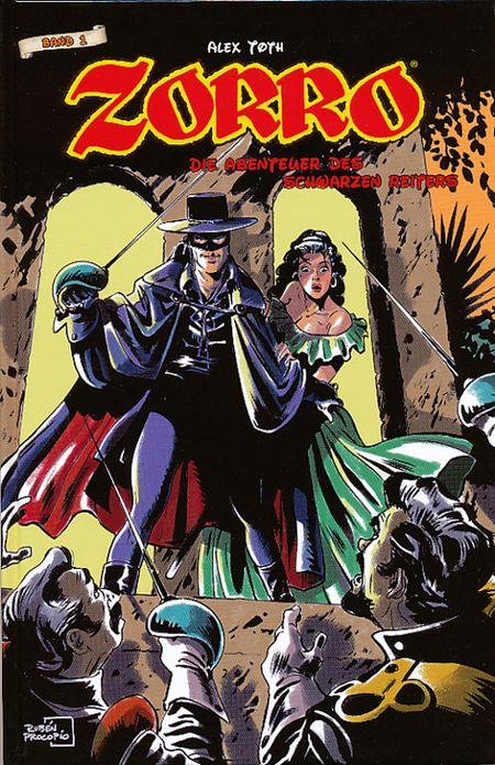 Zorro - Die Abenteuer des Schwarzen Reiters 1 - Das Cover
