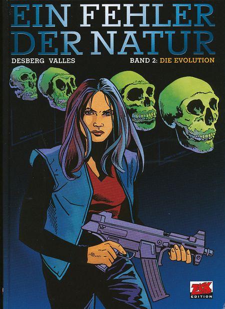 Ein Fehler der Natur 2: Die Evolution - Das Cover