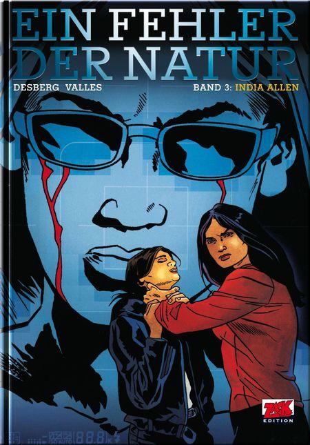 Ein Fehler der Natur 3: India Allen  - Das Cover