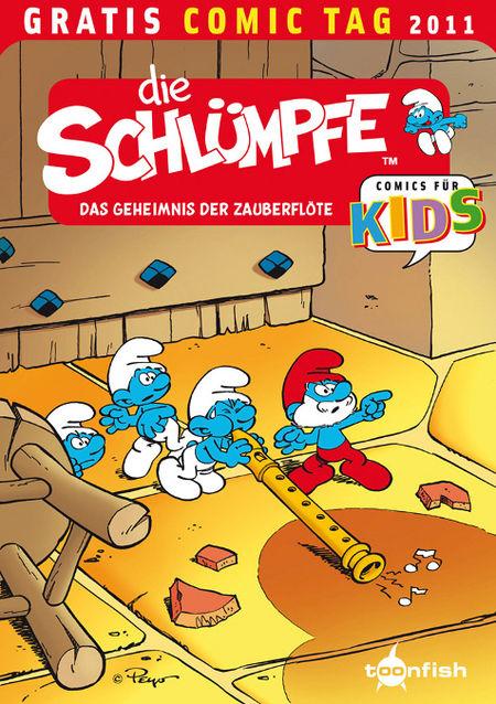 Die Schlümpfe - Das Cover