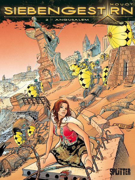 Siebengestirn 2: Angousalem  - Das Cover