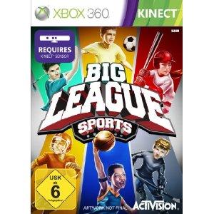 Big League Sports (Kinect) [Xbox 360] - Der Packshot