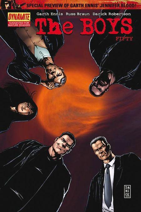 The Boys 9 - Das Cover
