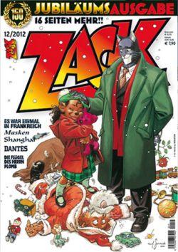 Zack Magazin 150 - Das Cover