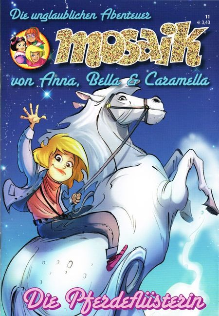 Anna, Bella und Caramella 11 - Das Cover