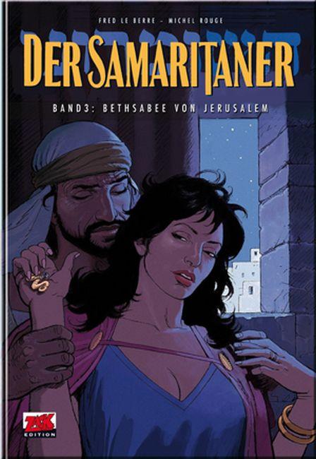 Der Samaritaner 3: Bethsabee von Jerusalem - Das Cover