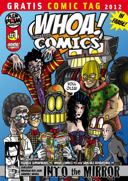 Whoa! Comics - Das Cover