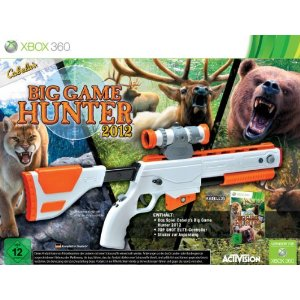 Cabela's Big Game Hunter 2012 - Bundle (inkl. Top Shot Elite Gun Controller) [Xbox 360] - Der Packshot
