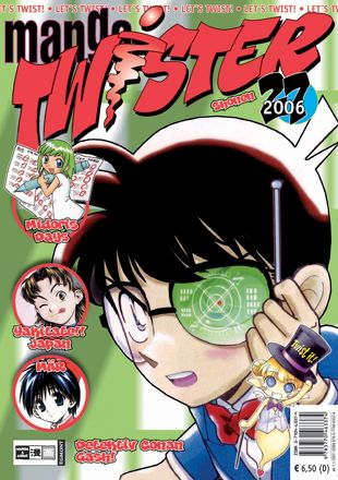 Manga Twister 27 - Das Cover