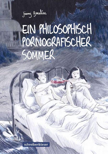 Ein philosophisch pornographischer Sommer - Das Cover