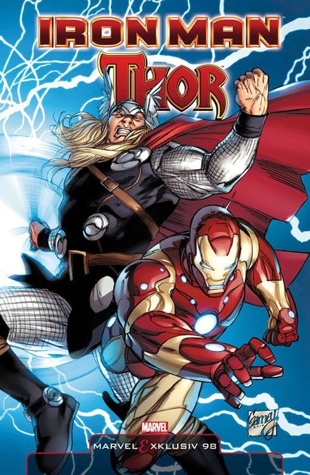 Marvel Exklusiv 98: Iron Man/Thor SC - Das Cover