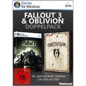 Fallout 3 & Oblivion - Doppelpack [PC] - Der Packshot