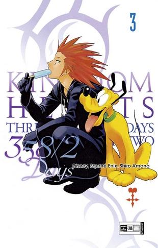 Kingdom Hearts 358/2 Days 3 - Das Cover