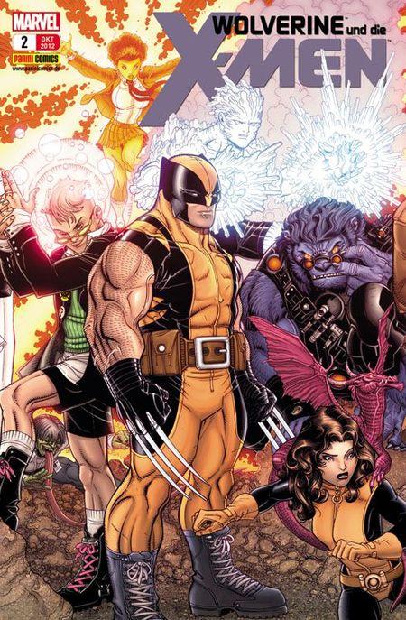 Wolverine & die X-Men 2 - Das Cover