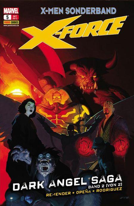X-Force 5: Dark Angel-Saga 2 - Das Cover
