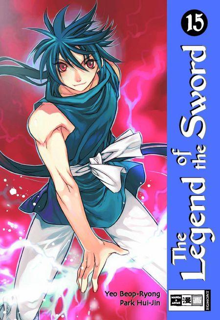 Legend Of The Sword 15 - Das Cover