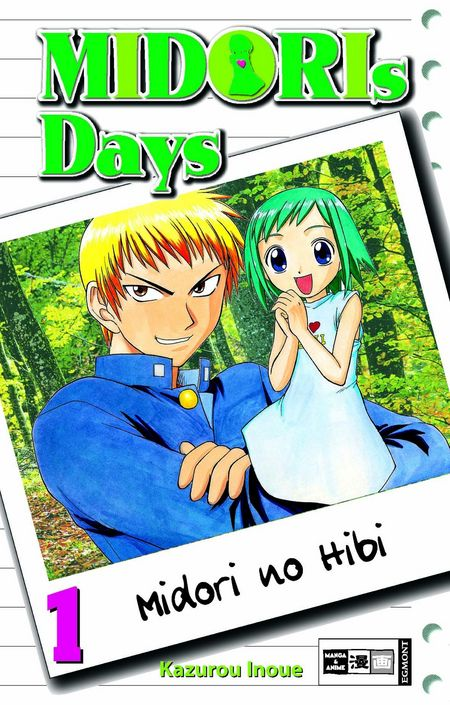 Midoris Days 1 - Das Cover