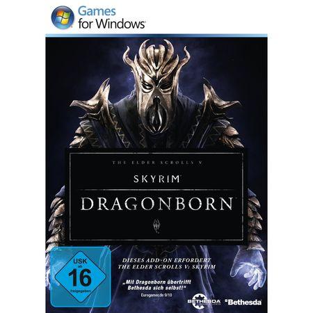 The Elder Scrolls 5: Skyrim Add-on - Dragonborn [PC] - Der Packshot