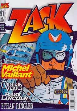 Zack 91 - Das Cover