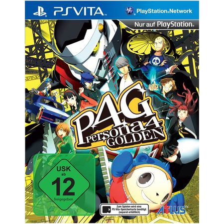 Persona 4 Golden [PS Vita] - Der Packshot