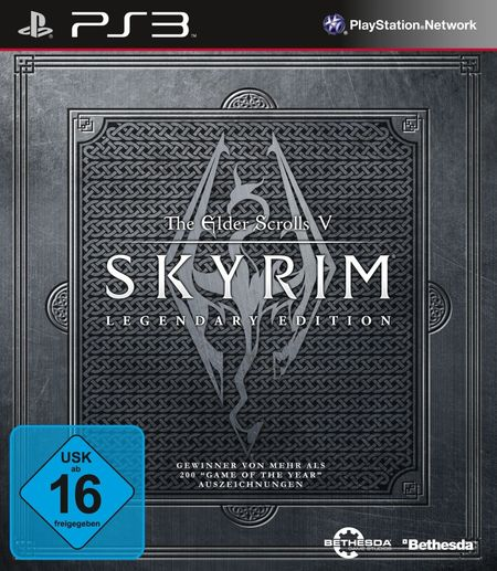 The Elder Scrolls V: Skyrim - Legendary Edition [PS3] - Der Packshot
