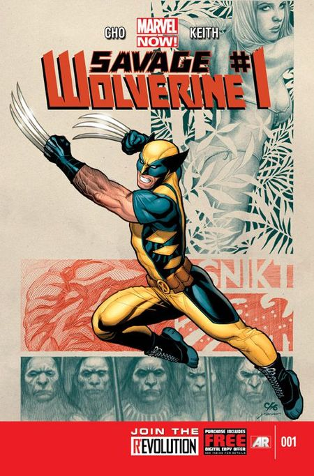 Savage Wolverine 1 - Das Cover