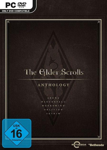 The Elder Scrolls: Anthology [PC] - Der Packshot