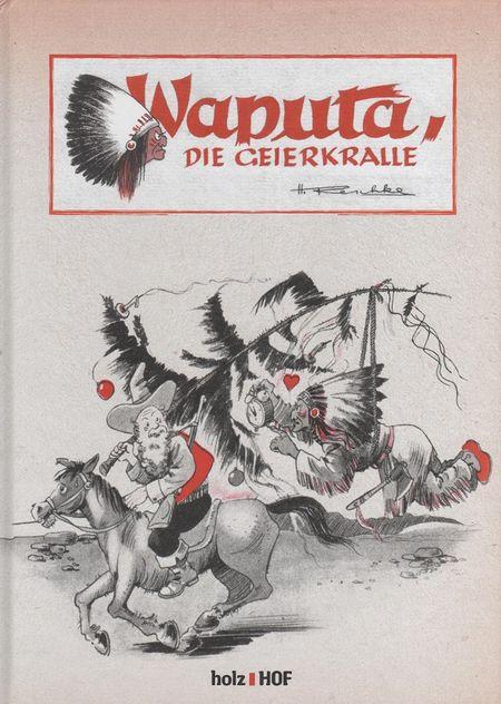 Waputa, die Geierkralle - Das Cover