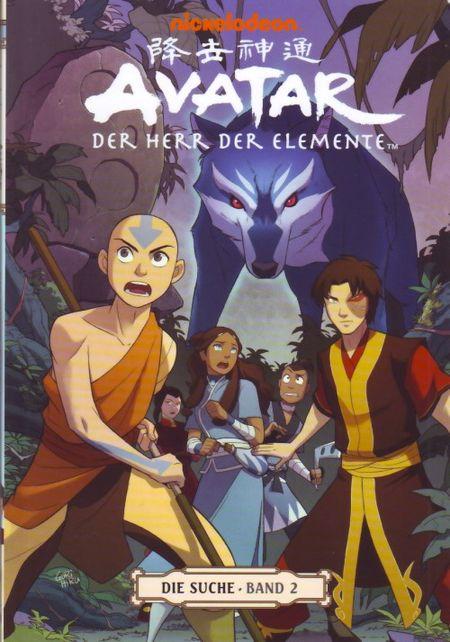 Avatar: Der Herr der Elemente Band 6: Die Suche 2 - Das Cover