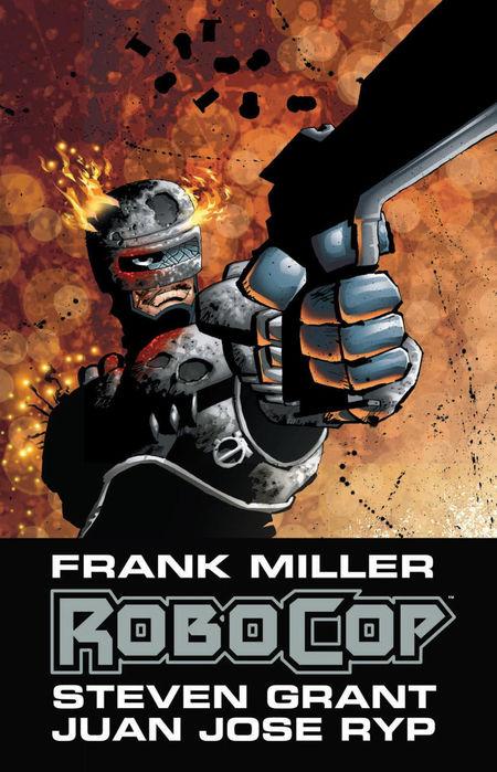 Frank Millers RoboCop  - Das Cover