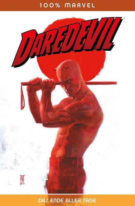 100% Marvel 71: Daredevil Das Ende Aller Tage - Das Cover