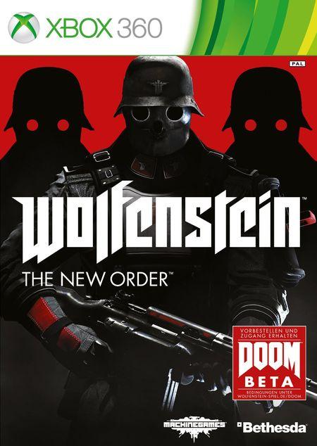 Wolfenstein : The New Order (Xbox 360) - Der Packshot