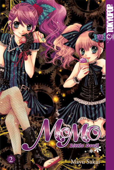Momo Little Devil Sonderband 2 (3in1) - Das Cover